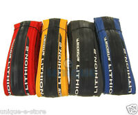 Michelin Lithion 2 Road Bike Folding Race Tire 700c x 23c Red blue yellow black