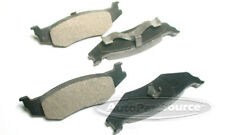 Disc Brake Pad Set-Semi-Metallic Pads Rear Tru Star PPM512