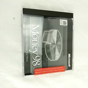 Microsoft Money 98 Standard PC CD ROM for Windows 95 & NT