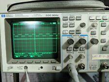HP 54616B  500 MHZ 2 GSA/S 2 CH  DIGITAL OSCILLOSCOPE