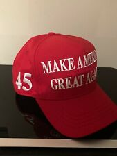OFFICIAL Trump 45 President MAKE AMERICA GREAT AGAIN 2020 MAGA Hat Red USA 🇺🇸