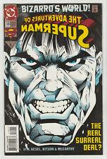 ADVENTURES OF SUPERMAN - BIZZRRO'S WORLD ISSUE # 510 DC COMICS 1994