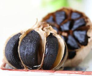 150g/4pcs Organic Fermented Black Garlic 90 Days Regulate Blood Sugar Balance
