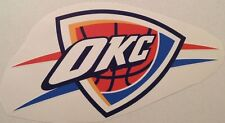 "Thunder Fathead Official Team Logo 16"" x 9"" Nba Wall Graphics Decal Sticker"