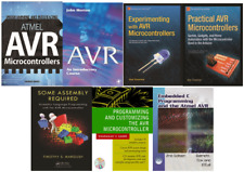 AVR ATMEL Microcontroller/Board book library collection/bundle [7 books]