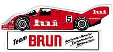 Team Brun Porsche LUI   #5 Sticker Aufkleber