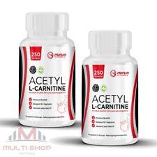 Acetil L-Carnitine 500 compresse Dieta Fat dimagrire potente L-Carnitina Vegan