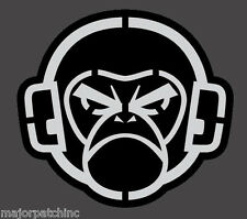 ANGRY MONKEY SWAT TACTICAL VINYL DECAL STICKER MILITARY CAR VEHICLE WINDOW