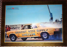 Gratiot Auto Supply Chevoom Plaque - Chevy Chevelle Funny Car Car Craft Magazine