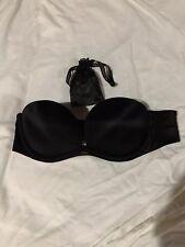 Victoria's Secret Very Sexy Black Adjustable Strapless Bra 34B