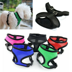 Adjustable Pet Control Harness Collar Safety Strap Mesh Vest For Dog Puppy Cat