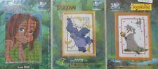 Vervaco Disney's Tarzan Counted Cross Stitch Kits & Pocahontas kit