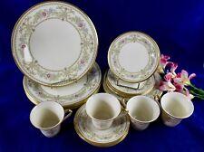 Lenox China CASTLE GARDEN 4 Five Piece Place Settings 20 Pieces Excellent