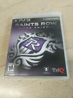 Saints Row The Third PlayStation 3 PS3 THQ