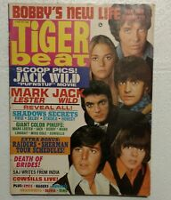 Tiger Beat Magazine 1968 Dark Shadows Bobby Sherman Jack Wild Mod Squad Raiders