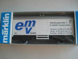 Marklin H0 4415-89724 EMV Signetund Adresse Box Car in its original box - LNIB