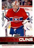 2012-13 Upper Deck Young Guns Robert Mayer Rookie #232