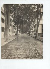 "Portsmouth, Nh, 9"" x 7"" B&W photo of Richards Avenue ca 1920s Brick Road then"