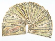 1914 Mexico Revolution 5 Peso Notes Lot (20) F-VF Gobierno Provisional P#S702b