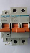 lot x 10 hager MZ240V MN240V disjoncteur + bobine à surtension 40A parafoudre