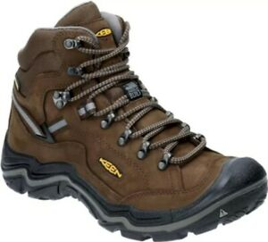 Keen Durand II B1020218 Men's Mid Waterproof Hiking Boots, Cascade
