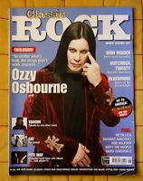 CLASSIC ROCK UK OZZY OSBOURNE Iron Maiden, Blackmore, Metallica Pete Way