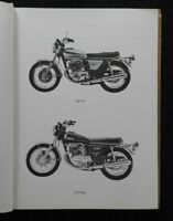1972-1975 YAMAHA 750cc MODEL TX750 TX750A MOTORCYCLE PARTS CATALOG MANUAL NICE