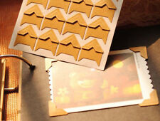 5SHEET DIY ADHESIVE PHOTO ALBUM FRAMER CORNER STICKER SCRAPBOOK CRAFT DEOCR