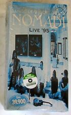 NOMADI - LUNGO LE VIE DEL VENTO LIVE 1995 - Doppia VHS Sigillata