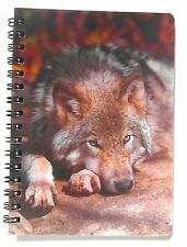 3D Notebook, Timber Wolf, Amazing Effect