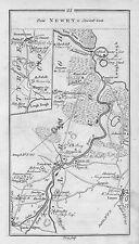 1778 Ireland Dundalk Portadown Lurgan Forkhill Bannfoot etc. Antique Road Map