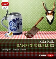 RITA FALK - DAMPFNUDELBLUES  MP3 CD NEW