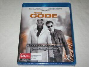 The Code - Morgan Freeman - Brand New & Sealed - Region B - Blu Ray