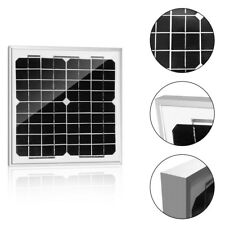 ACOPOWER 10w 10Watt Mono Solar Panel for 12V Battery Charging RV Boat, Off Grid