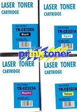 FULL SET TONERS 128A COMPATIBLE FOR HP COLOUR LASER JET PRO CM1415FN,CM1415FNW