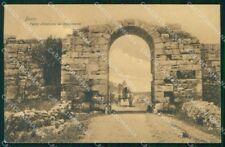 Salerno Paestum Porta d'Entrata ai Monumenti cartolina RT3007