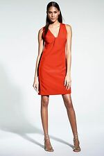 Next Premium Occasion Red Panelled Dress 10