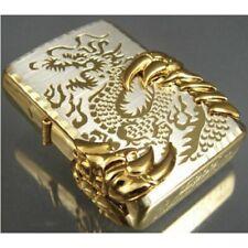 Gold Japanese Dragon -08 Zippo Lighter - Us Stock