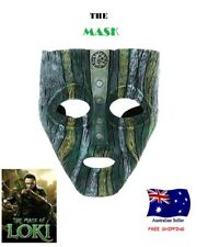Resin Loki Mask Deluxe Jim Carrey The Mask Halloween Costume  Prop Replica