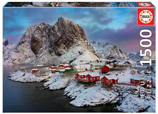 Educa 1500pc Jigsaw Puzzle - Lofoten Island Norway