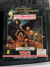 Advanced Dungeons & Dragons: Eye of the Beholder II PC DOS 3.5 floppies