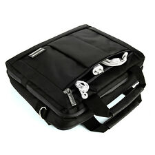 13 - 14 '' Messenger Backpack Bag for Apple MacBook Air / Pro 13.3 Laptop Black