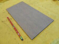 "BLACK ACRYLIC SHEET machinable plastic flat bar plate stock 1/4"" x 6"" x 12"""