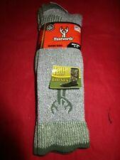 1 Pair Huntworth 90% Merino Wool Men Hiking Thermal Tall Boot Socks Large 9-13