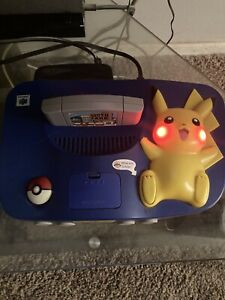 Pikachu Nintendo 64 (N64) Console, Games & Controllers.