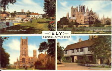 Cambridgeshire: Ely - Capital Of The Fens - Multiview - Posted 1971