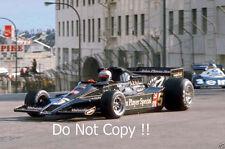 Mario Andretti JPS Lotus 78 Winner USA West Grand Prix 1977 Photograph