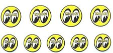 9 ~ SMALL Mooneyes Decals Hot Rat Rod Gasser Stickers RC , Model Muscle Cars
