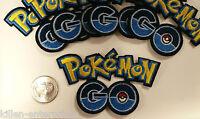 Pokemon Go Logo Embroidered Iron On Patch Nintendo