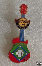 HARD ROCK CAFE 2014 ATLANTA BASEBALL OPENING DAY GUITAR PIN LE300